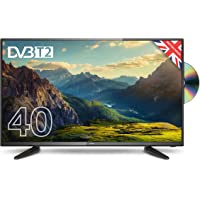 """Cello C40227FT2 40"""" Full HD LED TV with Built-in DVD player and Freeview T2 HD – UK Made"""