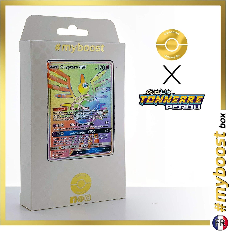 Cryptéro-GX 222/214 ARC en Ciel Secrète - #myboost X Soleil & Lune 8 Tonnerre Perdu - Coffret de 10 Cartes Pokémon Françaises: Amazon.es: Juguetes y juegos
