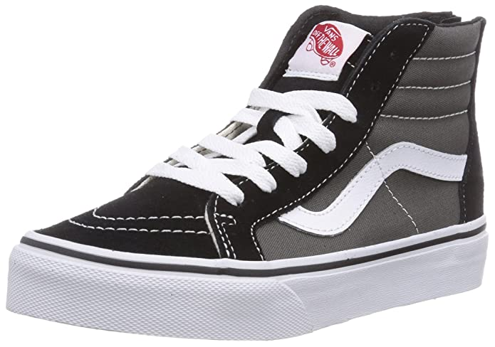 Vans Sk8-Hi Sneakers Kinder Unisex High Top Grau Schwarz
