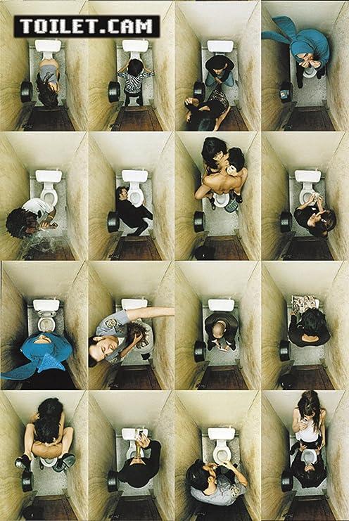 Poster Toilet.cam - Dinge, die man auf dem Klo tut