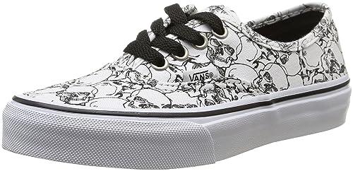 Vans K Authentic Color Me - Zapatillas Bajas infantil, Color Color me/Skulls/true White, Talla 30.5