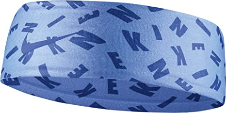 Amazon.com   Nike Girls Printed Fury Headband 2.0 (Royal Light Blue ... 87749e076cc