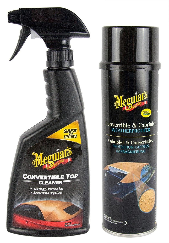 MEGUIAR'S MEGUIARS Cabrio Verdeck Reiniger 473 ml & Cabrio Imprä gnierung 500 ml MEGUIAR' S