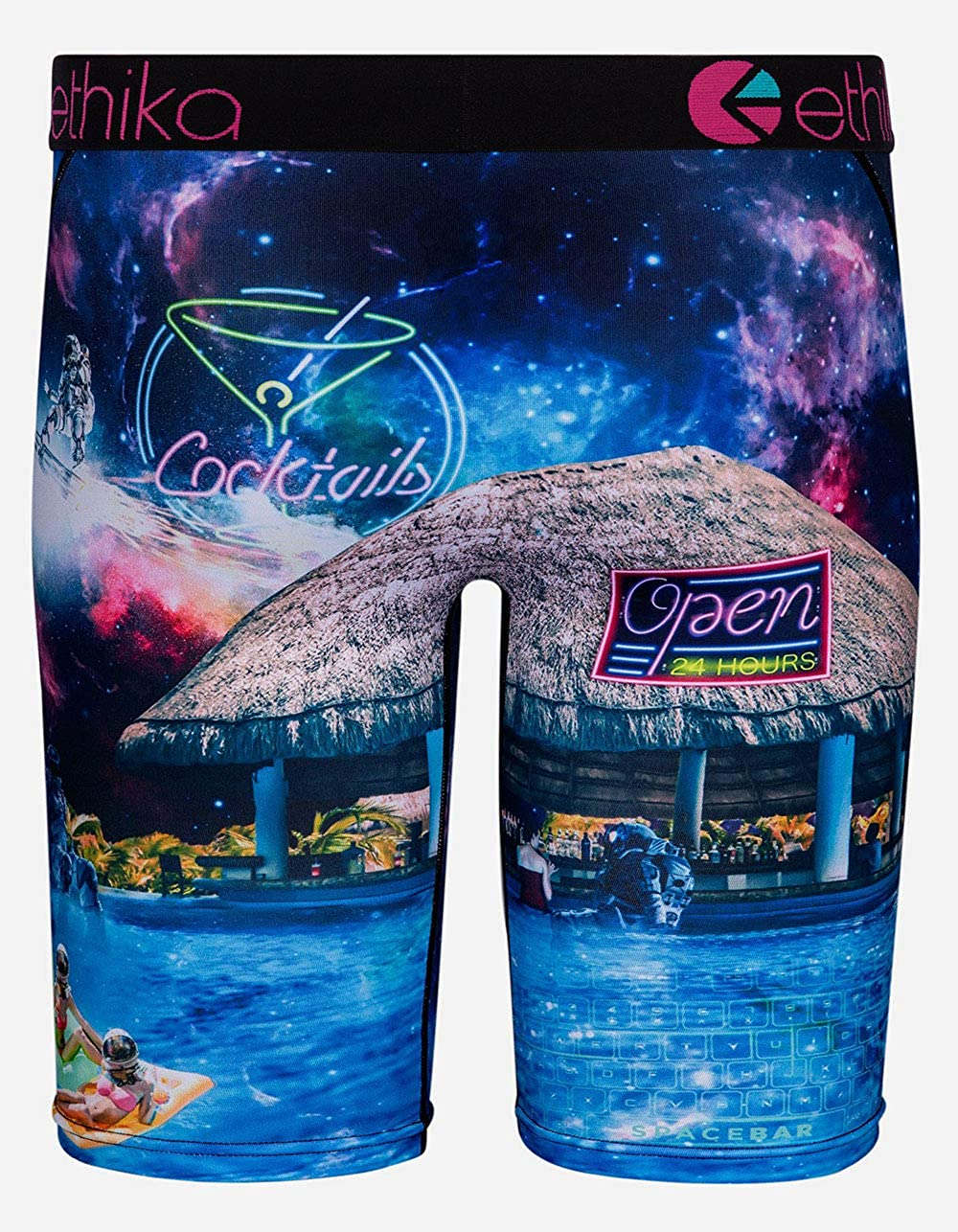 Ethika Space Bar Staple Boys Boxer Briefs