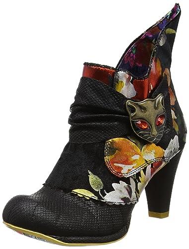 Marques Chaussure femme Irregular Choice femme Miaow Purple Floral