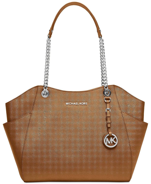 Amazon.com: Michael Kors Large Chain Shoulder Tote Bag: Shoes