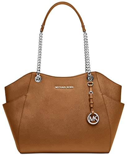 d3072deb777e Amazon.com  MICHAEL Michael Kors Jet Set Travel Large Shoulder Tote  (Acorn)  Shoes