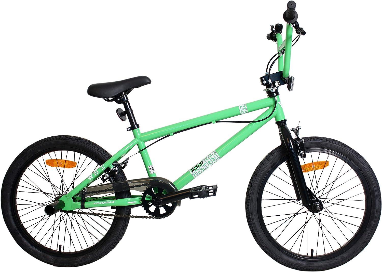 WST BMX Bicicleta, Niños, Verde, M: Amazon.es: Deportes y aire libre