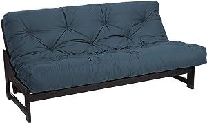 Mozaic Trupedic - Full Size 8-inch Futon Mattress, Dusty Blue