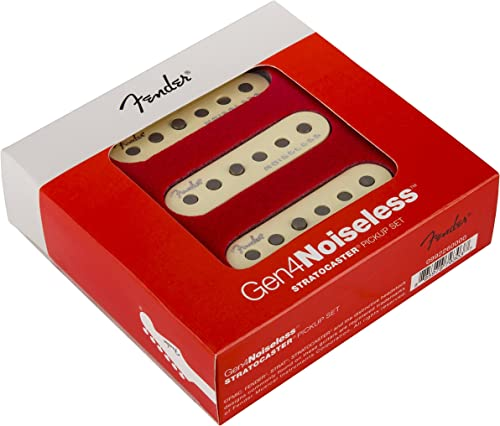 Fender Generation 4 Noiseless Stratocaster Single-Coil Pickups