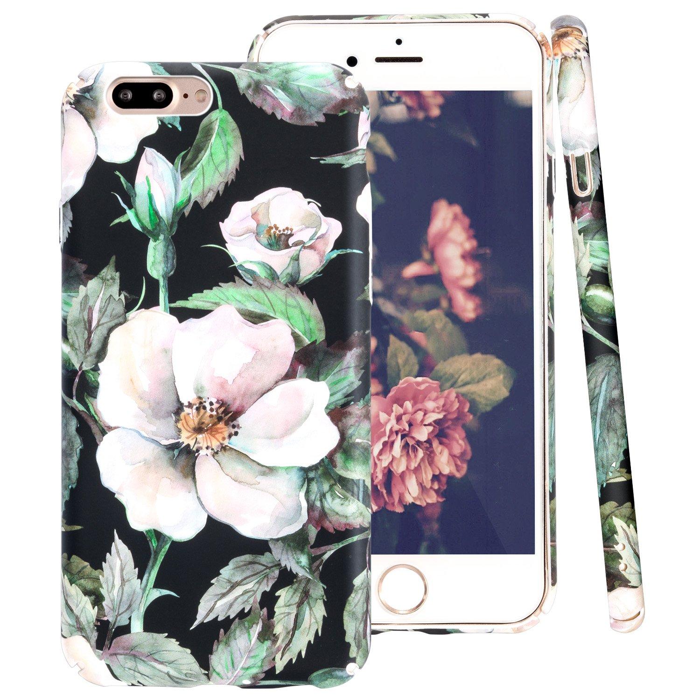 734007da01e Funda iPhone 8, Funda iPhone 7, ZXK CO Fundas Protectiva Carcasa de  Plástico Duro Cover Case ...