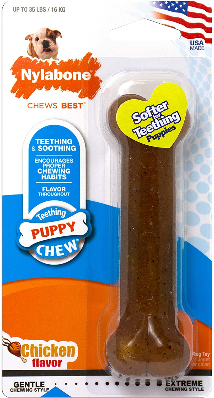 Nylabone Puppy Chew Dog Teething Bones