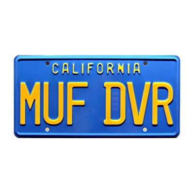 Celebrity Machines Cheech & Chong's Up in Smoke   MUF DVR   Metal Stamped License Plate: Automotive
