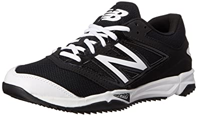New Balance Men\u0027s T4040V3 Turf Baseball Shoe, Black/White, ...