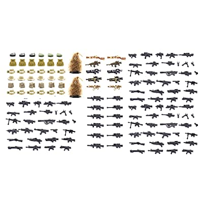 Magma Brick Dessert Force Equipment Set Compatible with Major Building Block Brand 291 Pieces: Toys & Games