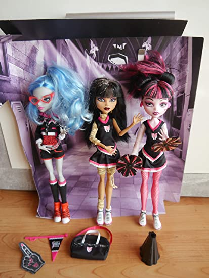 Amazon.es: Monster High Choul Spirit 3 Pa: Juguetes y juegos