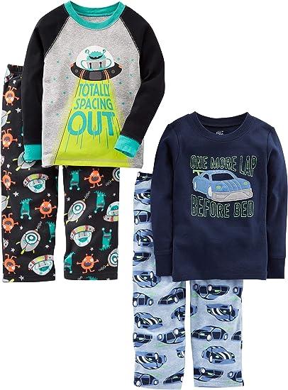 ragazzo Pigiama due pezzi 6 pezzi Set di pigiama in cotone Simple Joys by Carters