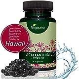 Premium Astaxanthine Naturelle (Hawaïen) + Vitamine E | 90 gélules végétaliennes | Combinaison antioxydante Puissante | Provenant des Algae d'Haematococcus Pluvialis | Sans Gélatine et Sans Additifs | VEGAN de Vegavero | 1 Boite