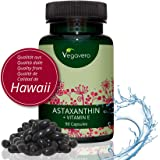 ASTAXANTINA Vegavero® | con Vitamina E + Olio Extravergine d'Oliva | SENZA GELATINA ANIMALE | Elevato potere Antiossidante | Senza Magnesio Stearato | Vegan