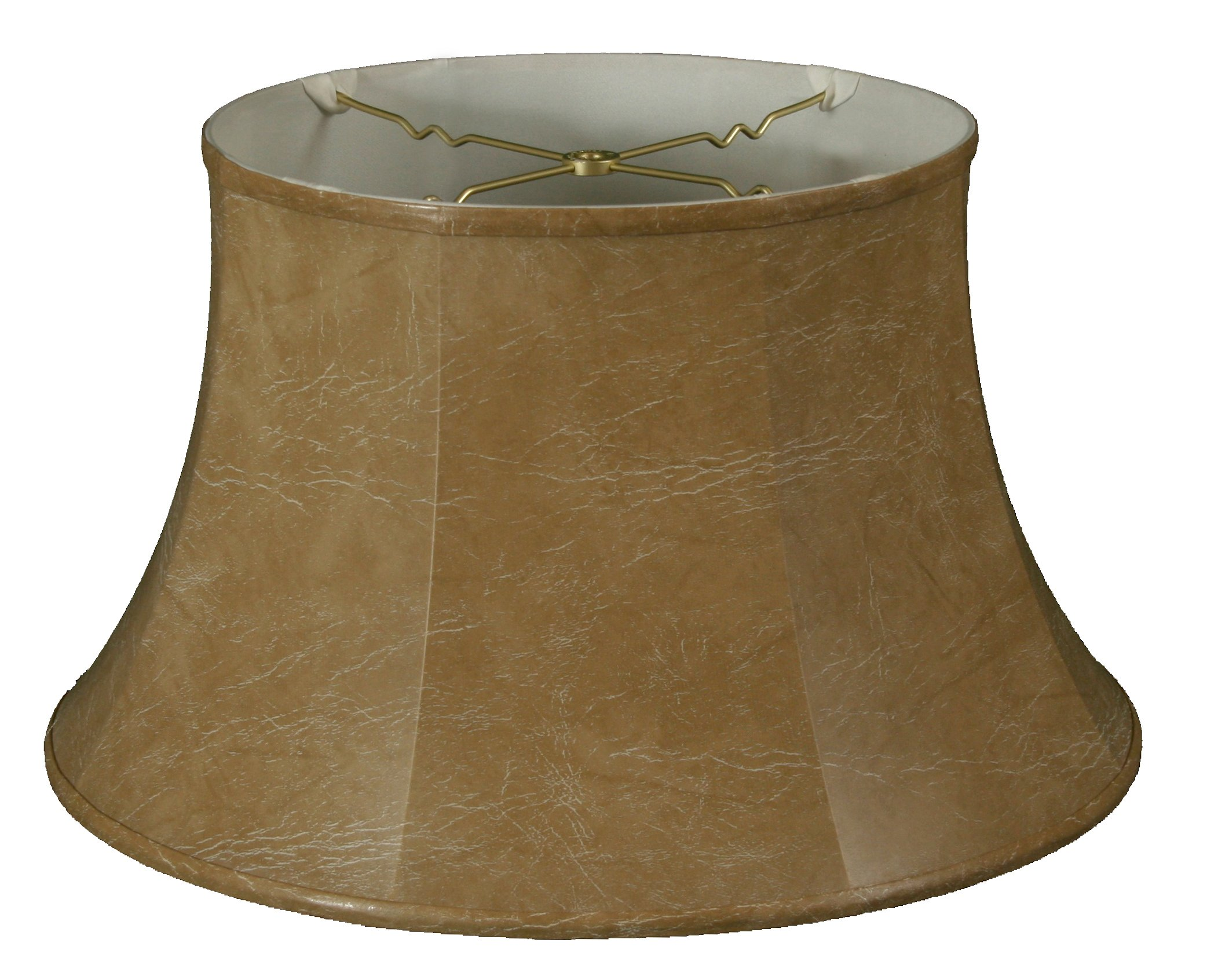 Royal Designs Shallow Drum Bell Billiotte Lamp Shade, Mouton, 13 x 19 x 11.26 (BS-711-19MT)