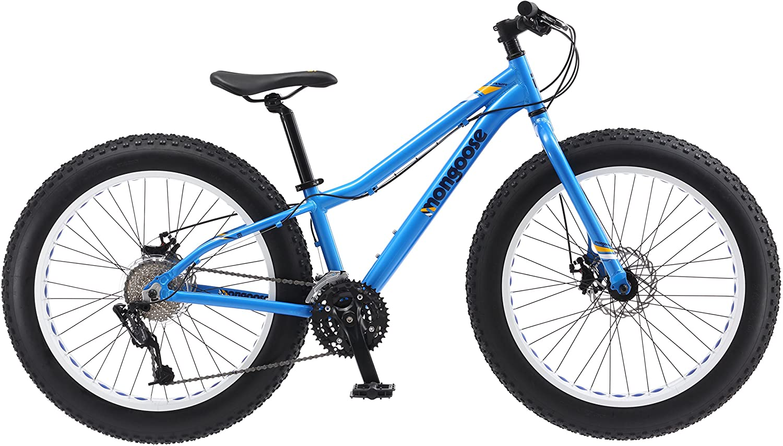 Mongoose Vinson Aluminum Frame Fat Tire Mountain Bike
