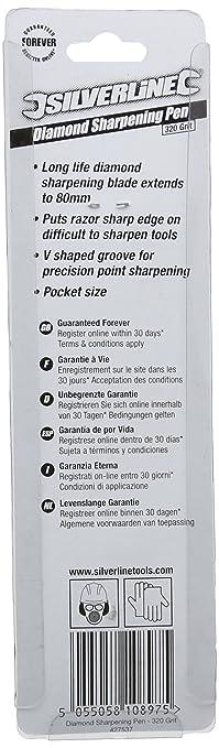 Silverline Diamantschärfer 80 mm
