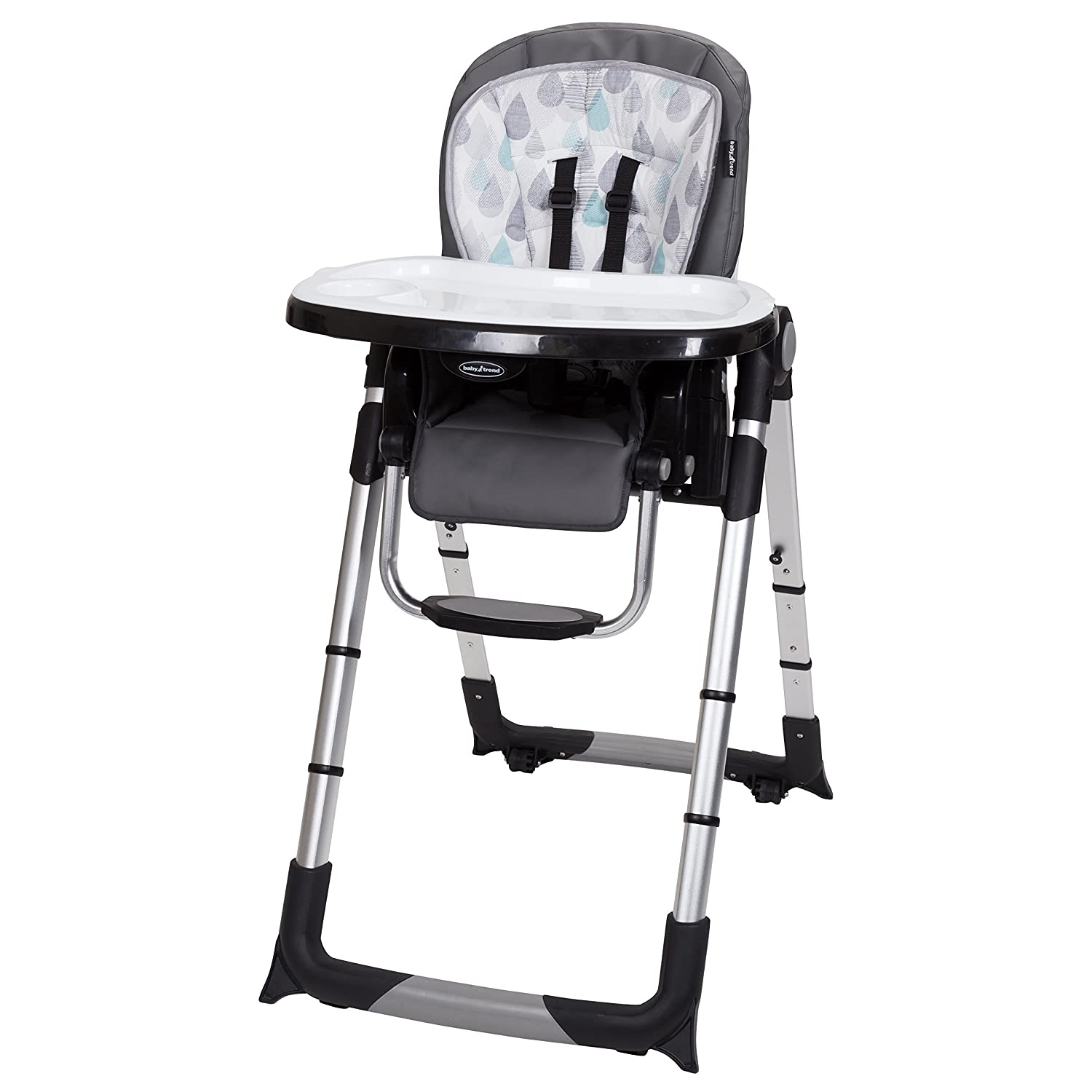 Drip Drop Blue NEW Baby Trend Go-Lite 3-in-1 Feeding Center