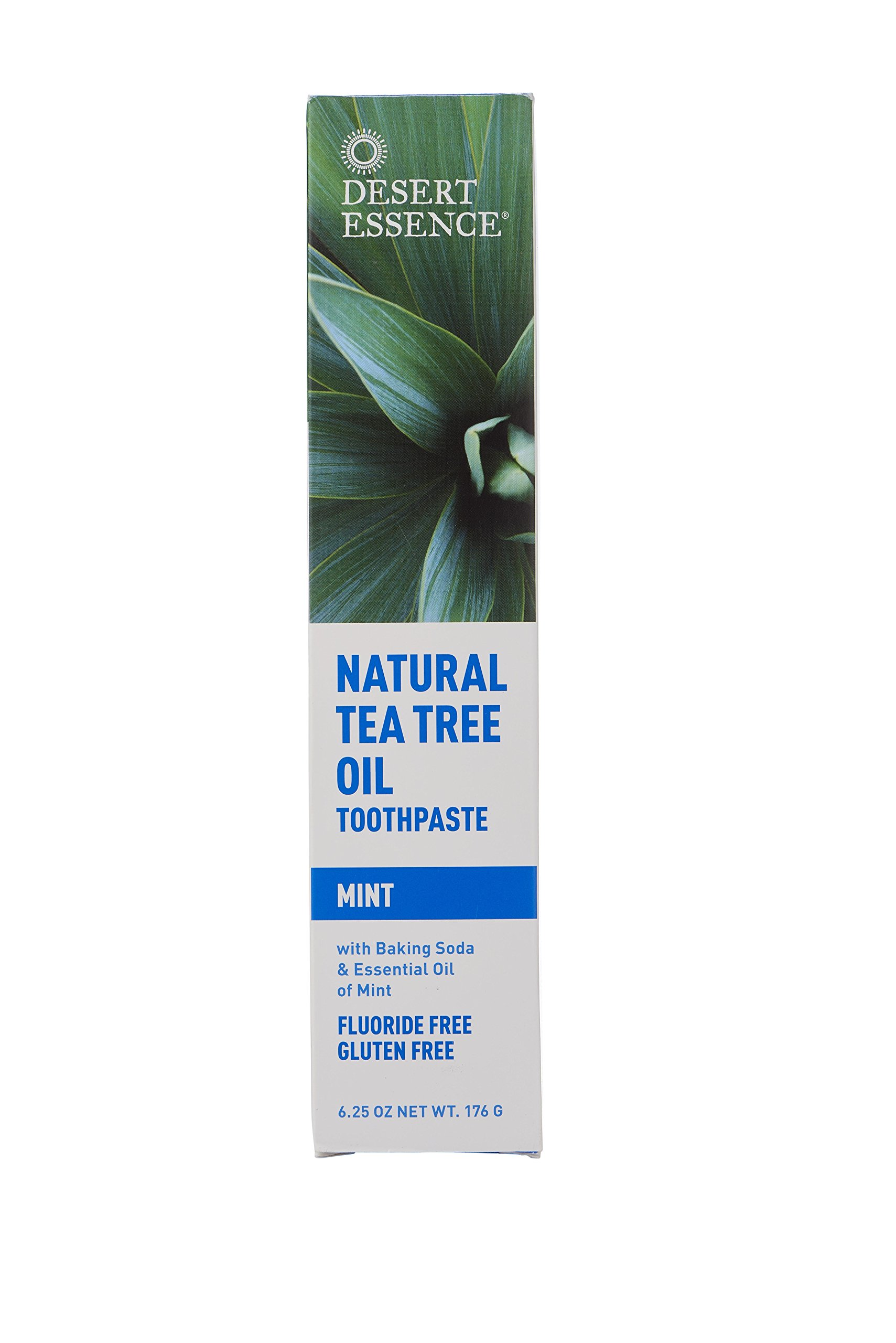 DESERT ESSENCE, Toothpaste Tea Tree Mint - 6.25 fl oz