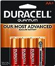 Duracell Quantum AA Batteries, 4/PK