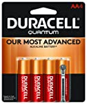 Duracell - Quantum AA Alkaline Batteries - long lasting, all-purpose Double A battery for household and business - 4 count