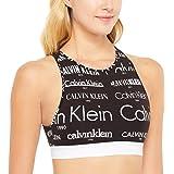 Calvin Klein Women's Heritage Logo (Retro Comp) Crop Bra