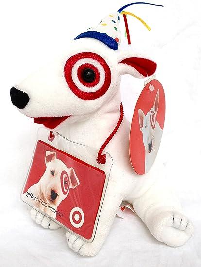 Amazon Target Birthday Bullseye 6 Plush Dog Toys Games