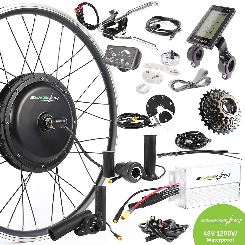 EBIKELING Kit de conversión de Bicicleta eléctrica Impermeable de ...