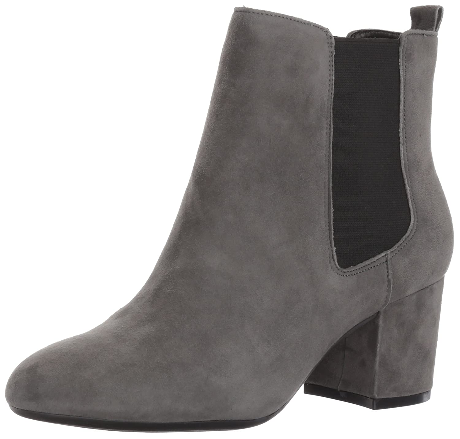 Aerosoles Women's Stockholder S Boot B06Y65B63T 10.5 B(M) US|Dark Gray Suede