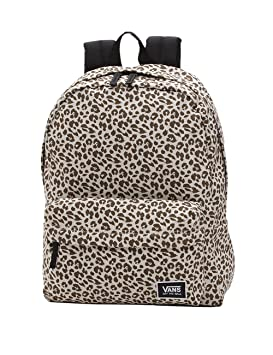 Vans Realm Classic Backpack Mochila Tipo Casual, 42 cm, 22 Liters, Marrón (Birch Leopard): Amazon.es: Equipaje