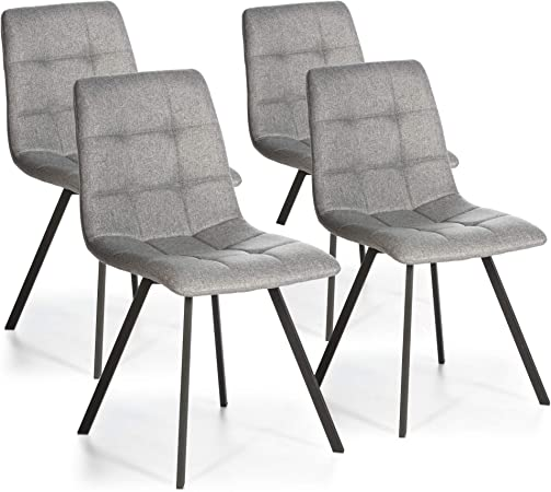sillas tapizadas 90 altura