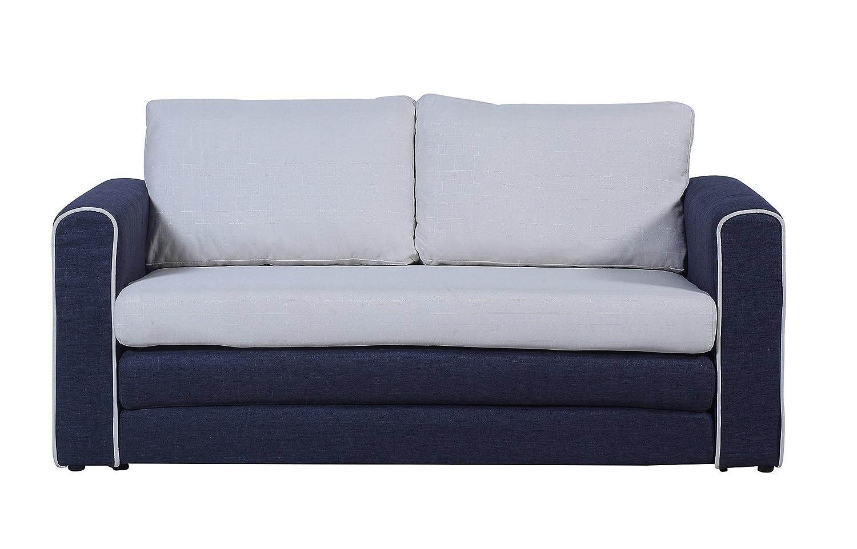 Amazon.com: Sofá cama modular y moderno en 2 tonos ...