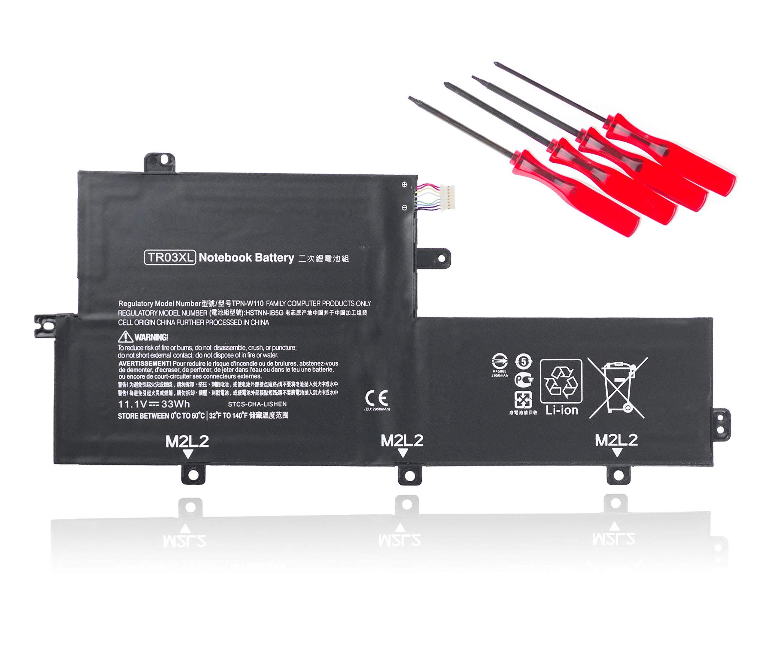 Bateria TR03XL HP Split X2 13-G110DX Series TR03XL HSTNN-DB5