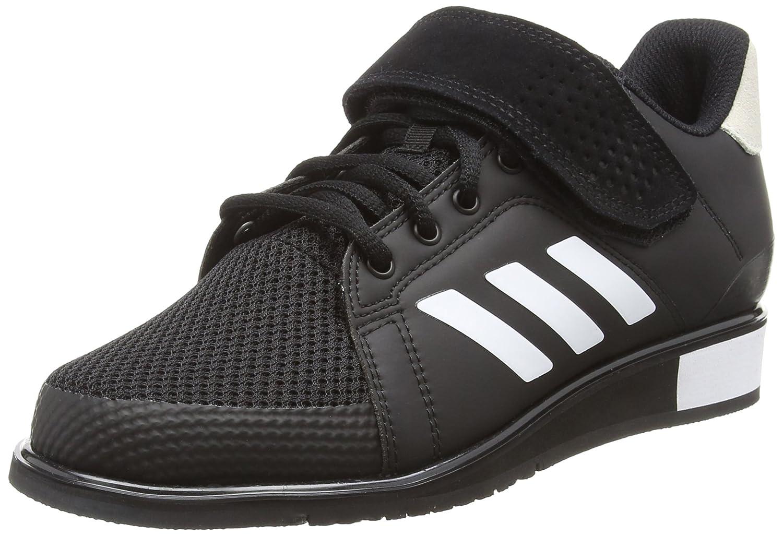 Adidas Power Perfect III, Zapatillas de Deporte para Hombre 40 EU Negro (Core Black/Footwear White/Matte Gold 0)