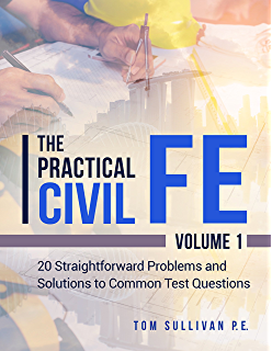 Amazon barrons fefundamentals of engineering exam 3rd ed the practical civil fe 20 straightforward problems and solutions to common test questions fandeluxe Image collections