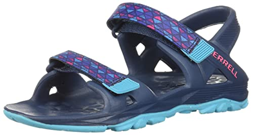 dc18661f598d Merrell Girls  Hydro Drift Sandal Blue 1 Medium US Little Kid