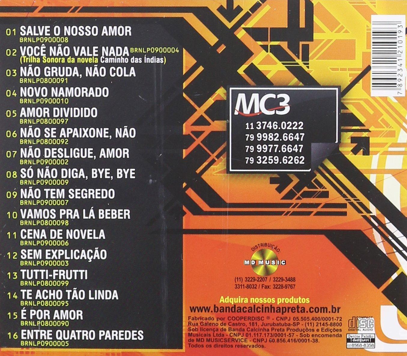 GRATIS 2009 BAIXAR CALCINHA NOVO CD PRETA