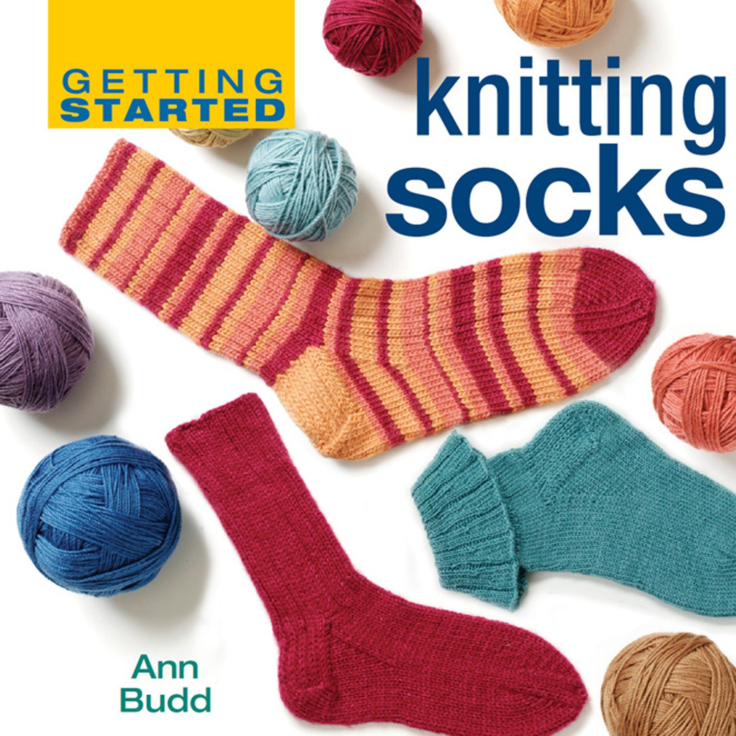 37e34e40ff014c Amazon.com  Getting Started Knitting Socks (Getting Started series ...