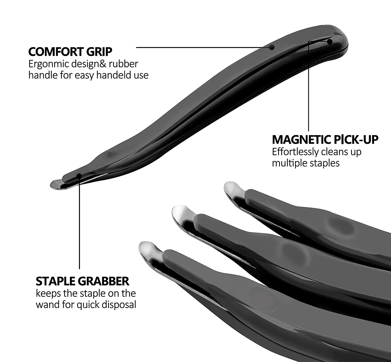 ktrio staple remover professional magnetic easy