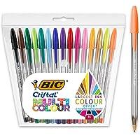 BIC Cristal Multicolour - Pack de 15 unidades