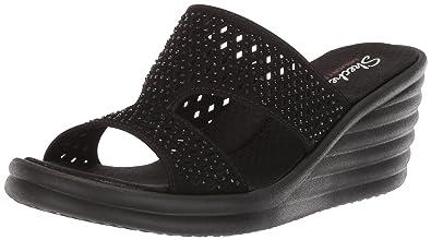 Women's Skechers Ibiza Wave Summer Sandal Rumbler Slide Tl51FKcuJ3