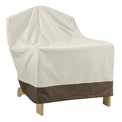Basics Adirondack-Chair Outdoor Patio Furniture Cover : Garden & Outdoor
