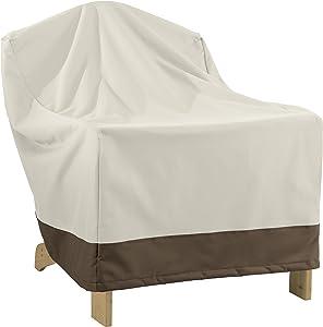 AmazonBasics Adirondack-Chair Outdoor Patio Furntiure Cover, 4 Pack
