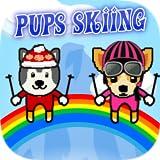 Puppies Skiing - Paw Show Downhill Ski