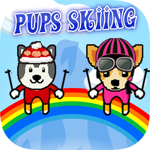 Puppies Skiing   Paw Show Downhill Ski